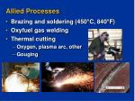 allied processes
