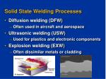 solid state welding processes8