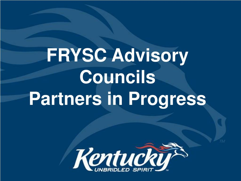 frysc advisory councils partners in progress l.