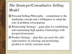 the strategic consultative selling model12