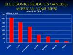 electronics products owned by american consumers