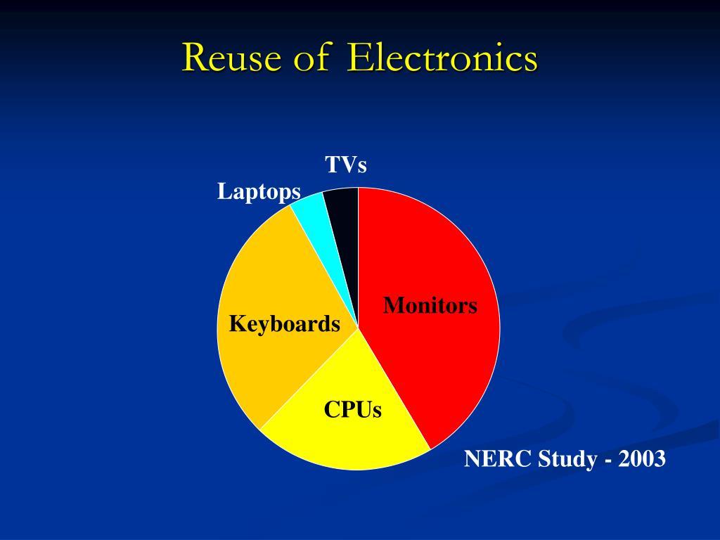 Reuse of Electronics