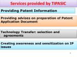 services provided by tipasic