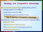 strategy and competitive advantage