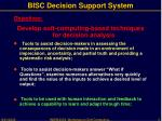 bisc decision support system3
