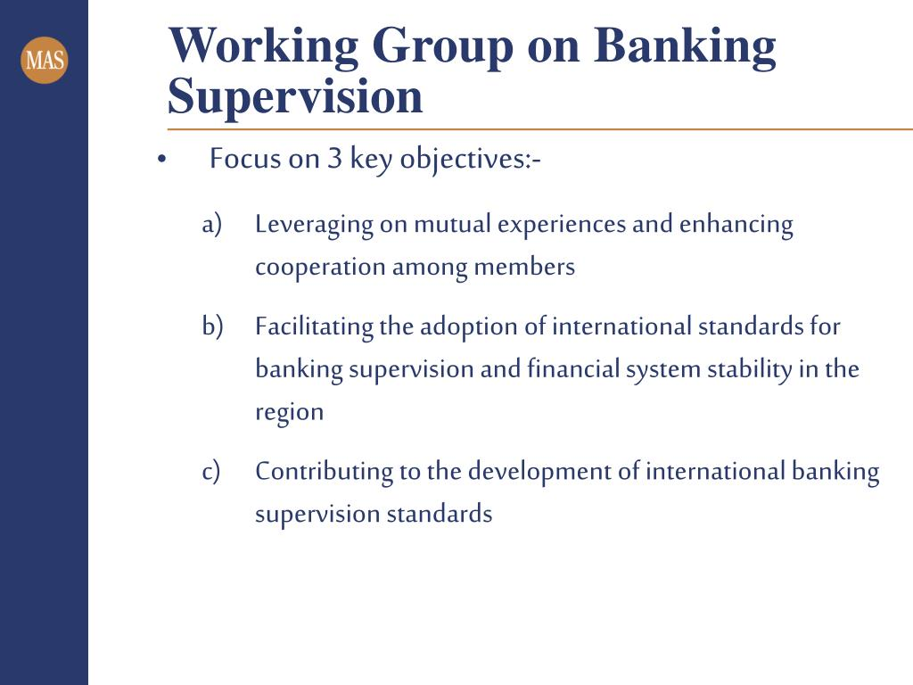 Working Group on Banking Supervision
