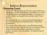 indirect representation12