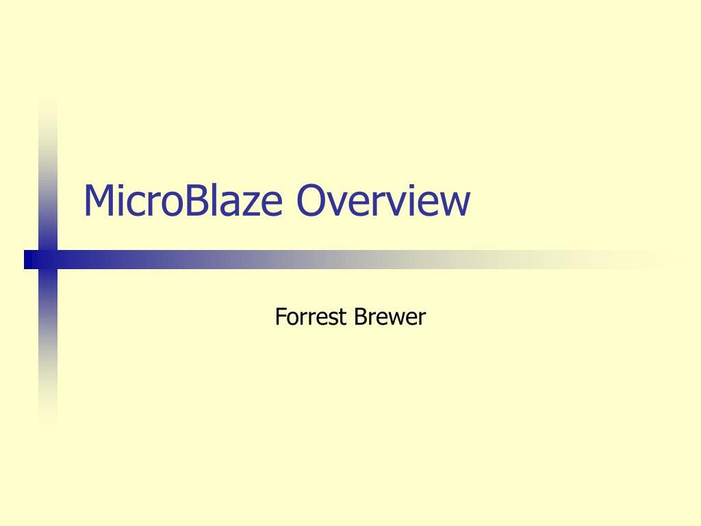 microblaze overview l.