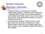 recent research bayesian networks33