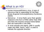 what is an hiv