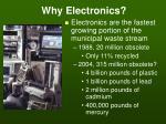 why electronics