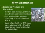 why electronics3