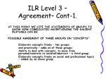 ilr level 3 agreement cont 1