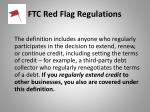 ftc red flag regulations40