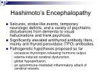 hashimoto s encephalopathy