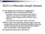 sca 3 or machado joseph disease