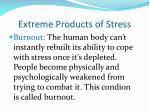 extreme products of stress5