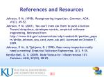 references and resources83