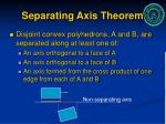 separating axis theorem