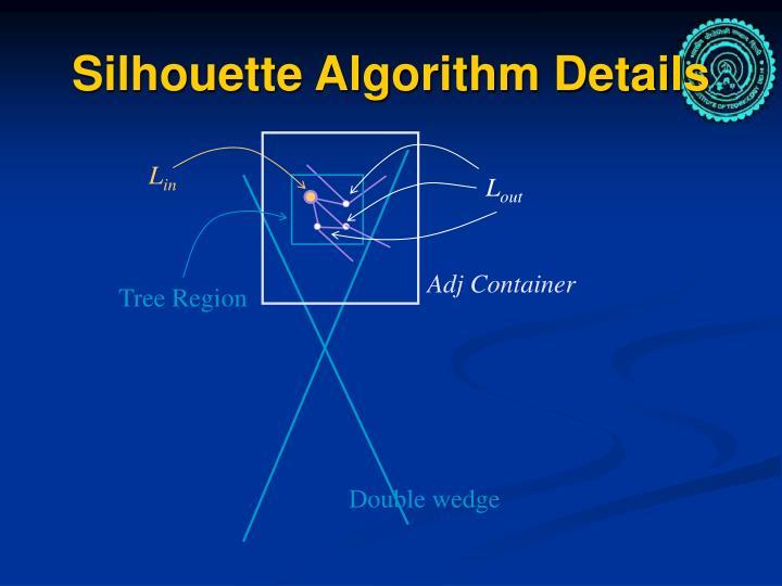 Silhouette Algorithm Details