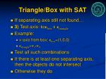 triangle box with sat1