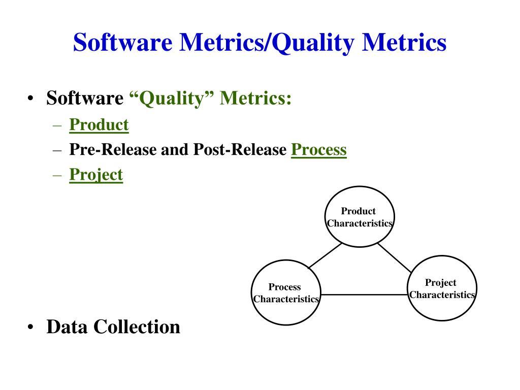 software metrics quality metrics l.