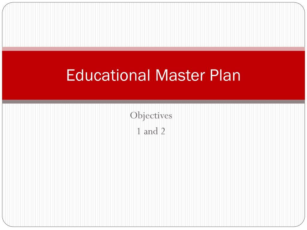 educational master plan l.