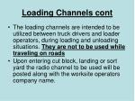 loading channels cont