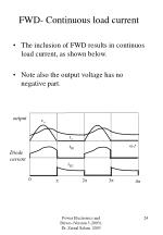 fwd continuous load current