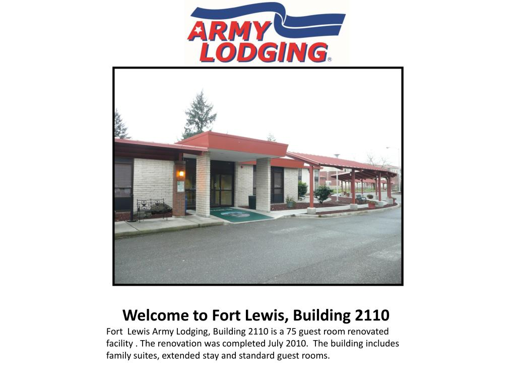 welcome to fort lewis building 2110 l.