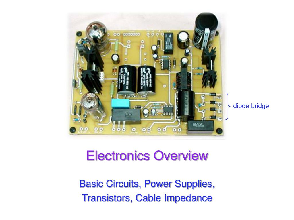 electronics overview l.