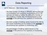data reporting16