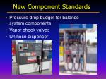 new component standards