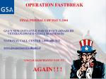 operation fastbreak