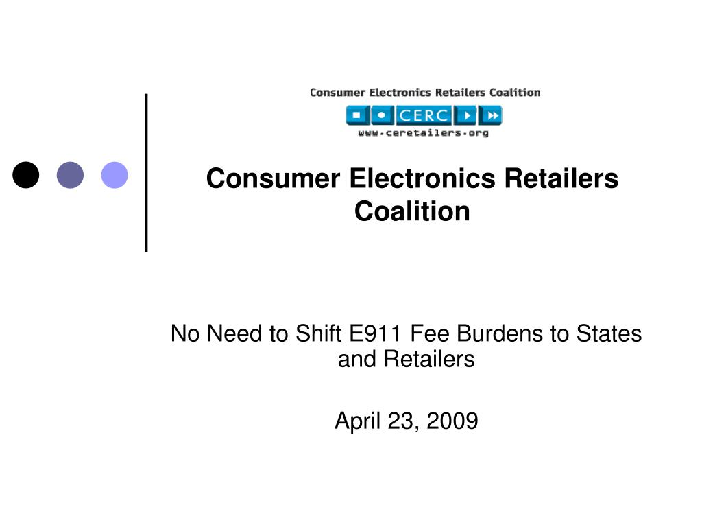 consumer electronics retailers coalition l.