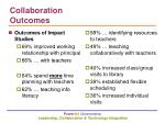 collaboration outcomes