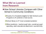 what we ve learned from research4