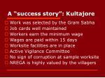 a success story kultajore