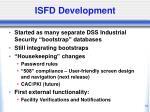 isfd development