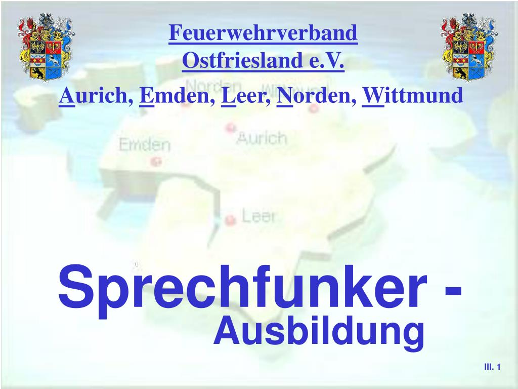 feuerwehrverband ostfriesland e v l.