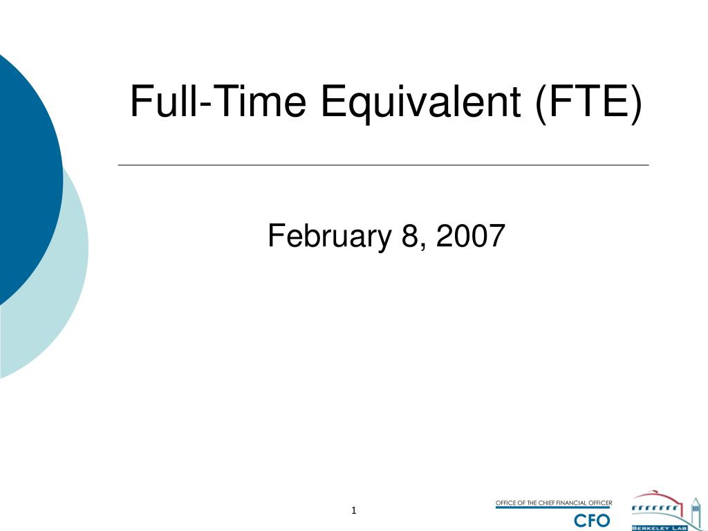 full time equivalent fte l.