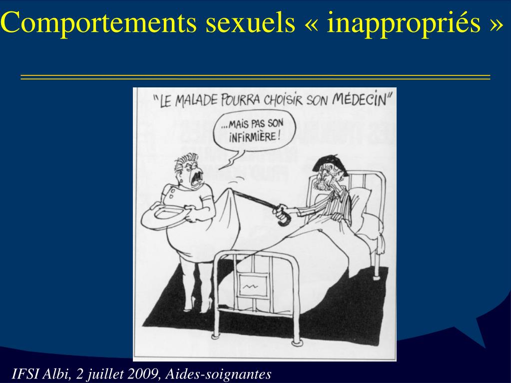 Comportements sexuels «inappropriés»