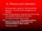d rescue and liberation