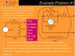 example problem 1