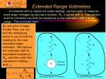 extended range voltmeters