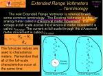 extended range voltmeters terminology