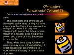 ohmmeters fundamental concept 1