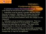 voltmeters fundamental concepts