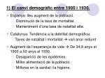 1 el canvi demogr fic entre 1900 i 1930