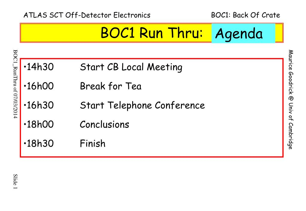 boc1 run thru l.